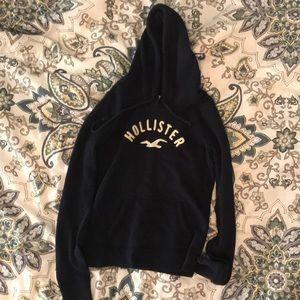 Hollister navy hoodie